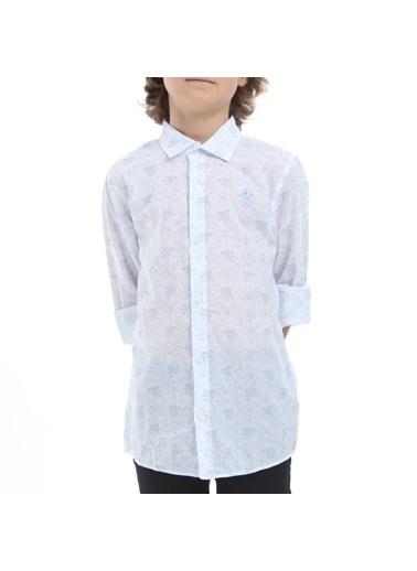 Robe di Kappa Rdk Çocuk Gömlek Barn - Beyaz